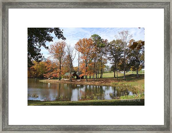 A Peaceful Spot Framed Print
