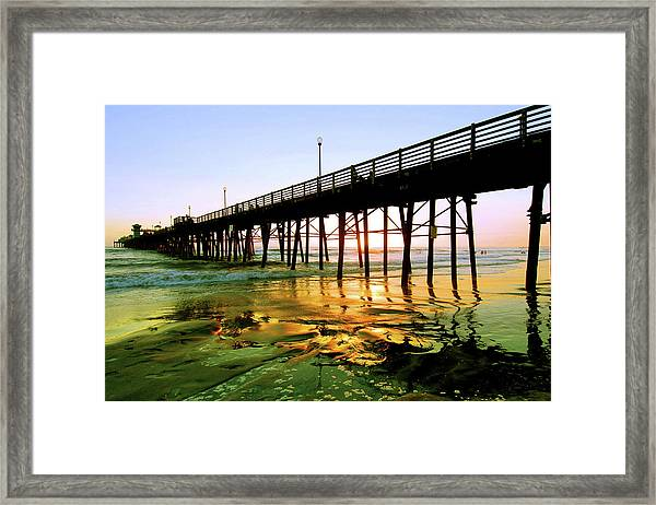 A Perfect Place Framed Print