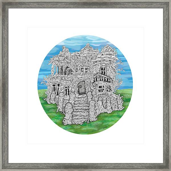 House Of Secrets Framed Print