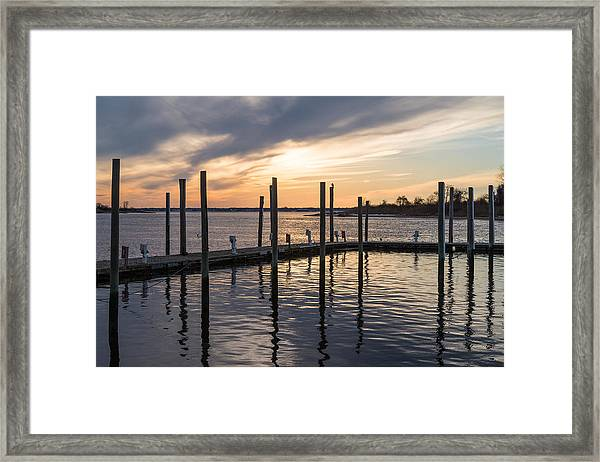 A Place On The River Framed Print