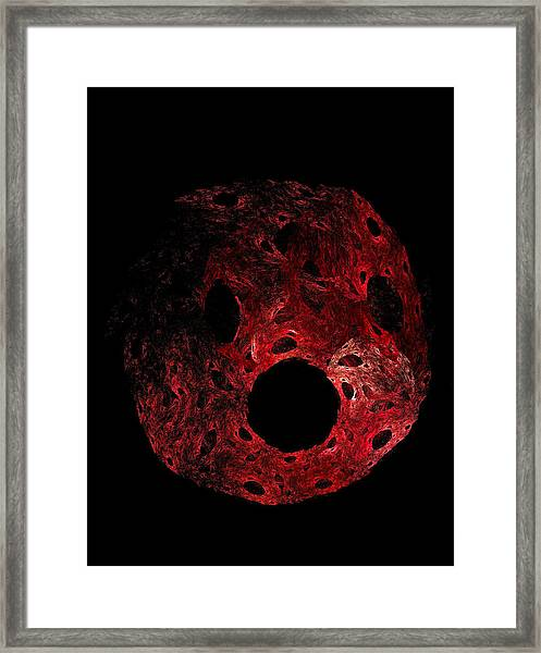 A Portrait Of Oh Framed Print