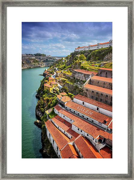 A Portrait Of Porto  Framed Print by Carol Japp