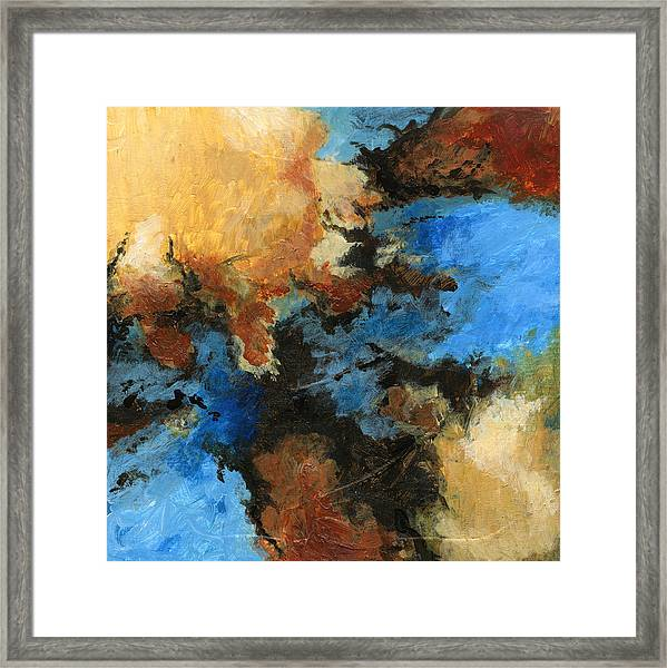 A Precious Few Abstract Framed Print
