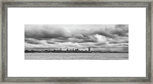 A Rotten Day In Buffalo  9230 Framed Print
