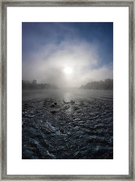 A Rushing River Framed Print