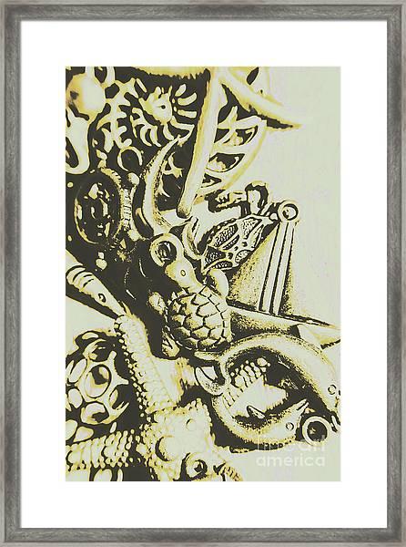 A Sailors Charm Framed Print