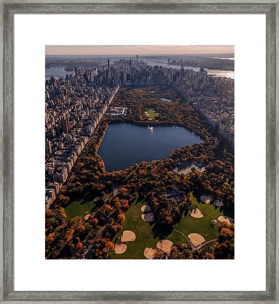 A Slice Of New York City  Framed Print