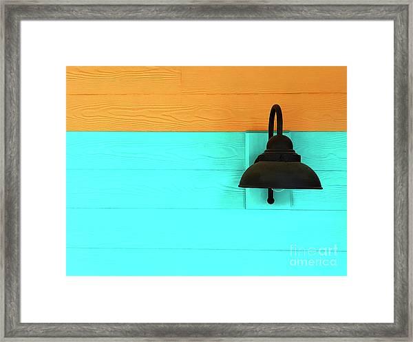 A Solitary Light Framed Print