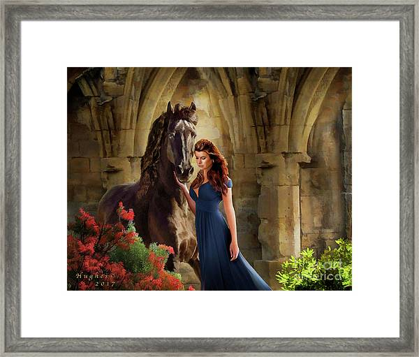 A Spanish Night Framed Print
