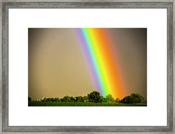 Framed Print featuring the photograph A Spectrum Of Nebraska 002 by NebraskaSC