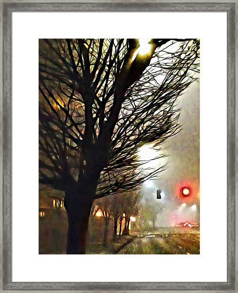 A Stop On My Journey Framed Print