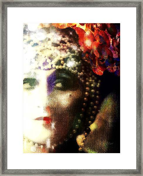 A String Of Pearls Framed Print