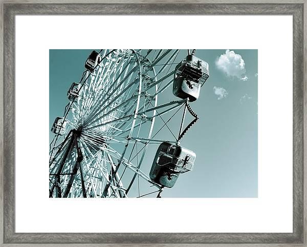 A Summer Ride Framed Print