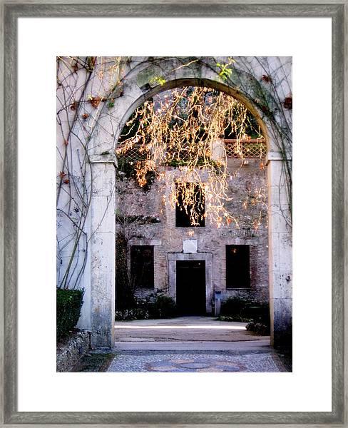 A Taste Of Italy Framed Print