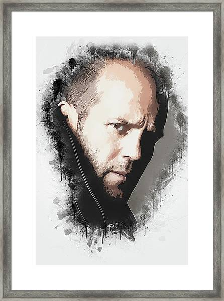 A Tribute To Jason Statham Framed Print
