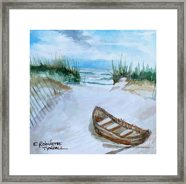A Trip To The Beach Framed Print