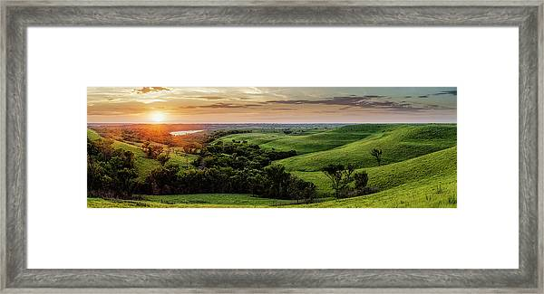 A View From A Favorite Spot Framed Print