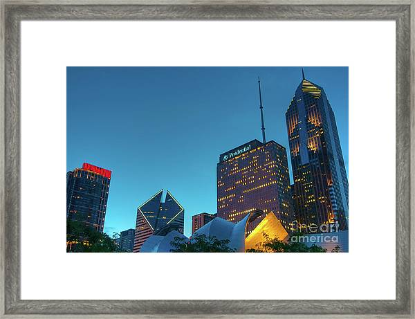 A View From Millenium Park Framed Print