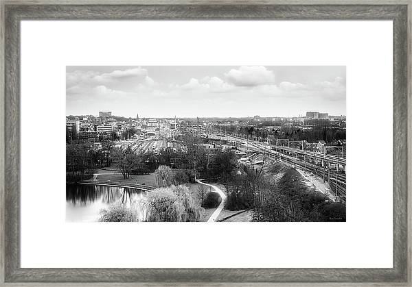 A View On Ghent Framed Print