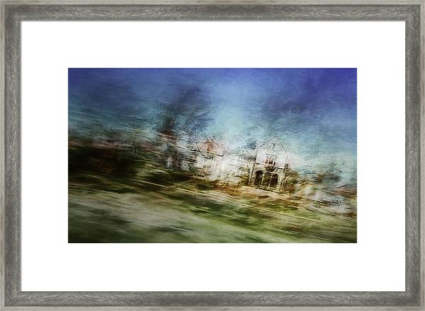 A Walk On The East Side Framed Print