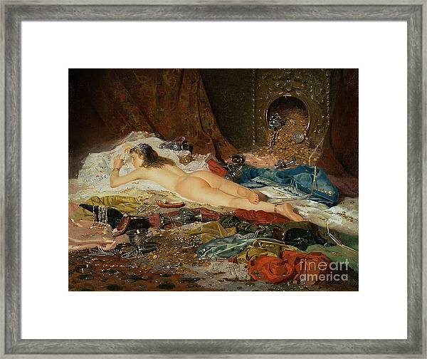 A Wealth Of Treasure Framed Print
