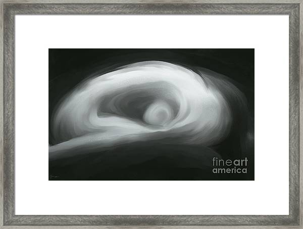 Female Abstract Framed Print