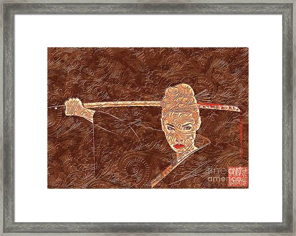 A Woman Scorned Framed Print