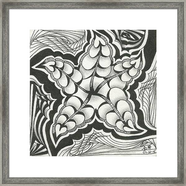 A Woman's Heart Framed Print