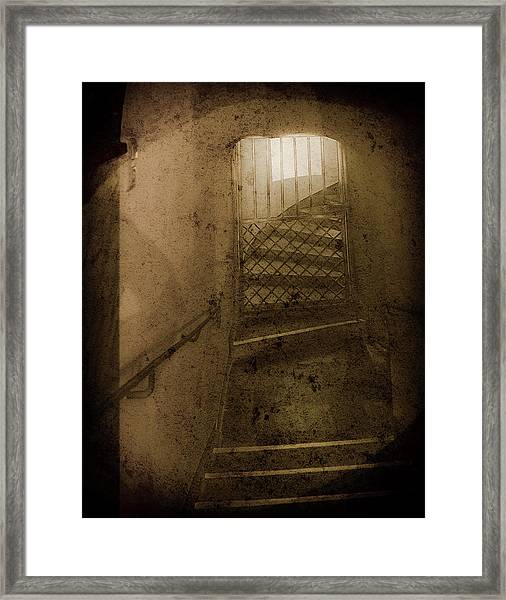 Framed Print featuring the photograph Aachen, Germany - Cathedral - No Passage by Mark Forte