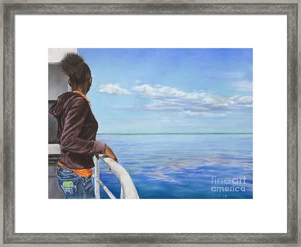 Abaco Dream Framed Print