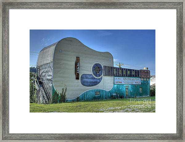 Abandon Country Music Museum Framed Print