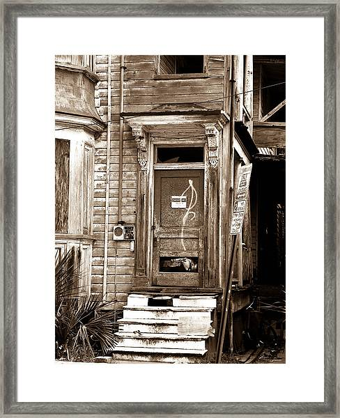 Abandoned 1 Framed Print by Melissa Wyatt