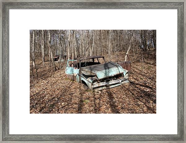 Abandoned Car 1 Framed Print