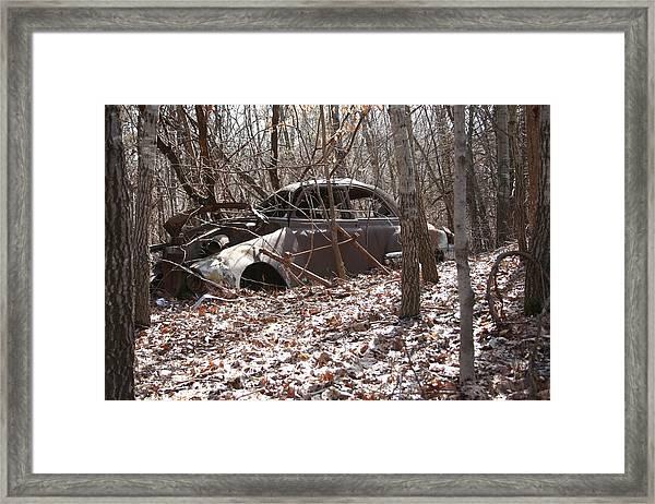 Abandoned Car 10 Framed Print