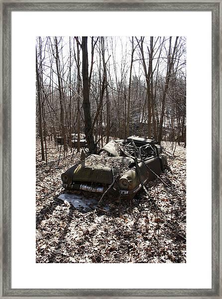 Abandoned Car 4 Framed Print