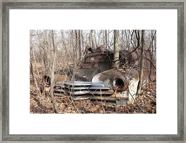 Abandoned Car 5 Framed Print