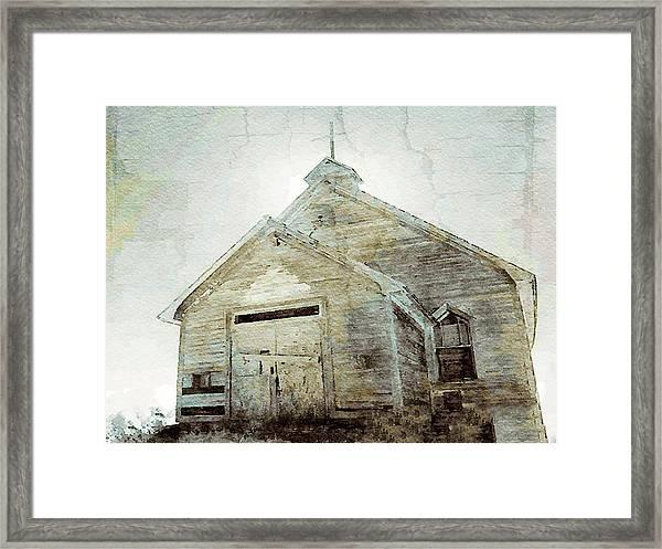 Abandoned Church 1 Framed Print