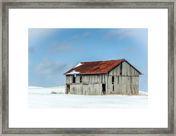 Abandoned Farm Site Framed Print
