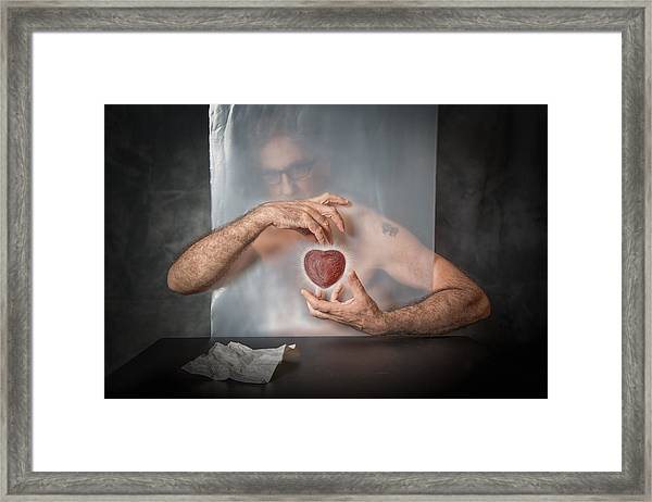 Abandoned Heart Framed Print