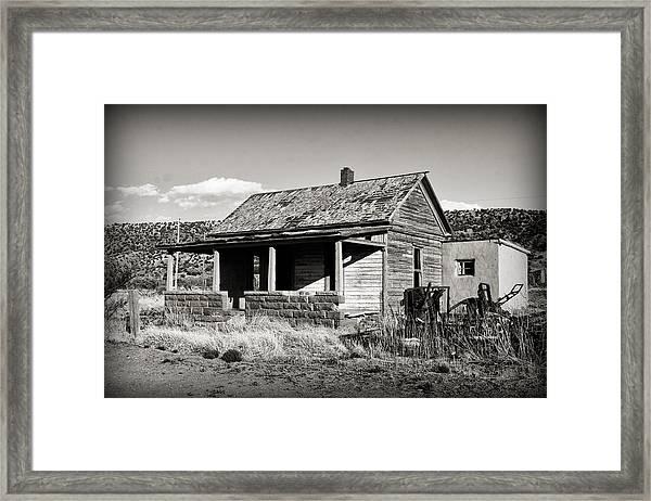 Abandoned In Cuervo Framed Print