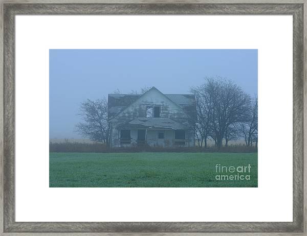 Abandoned In Oklahoma Framed Print