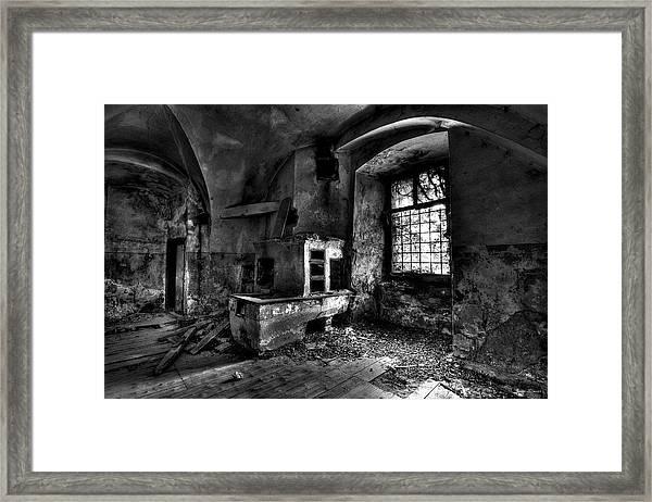 Abandoned Kitchen Framed Print
