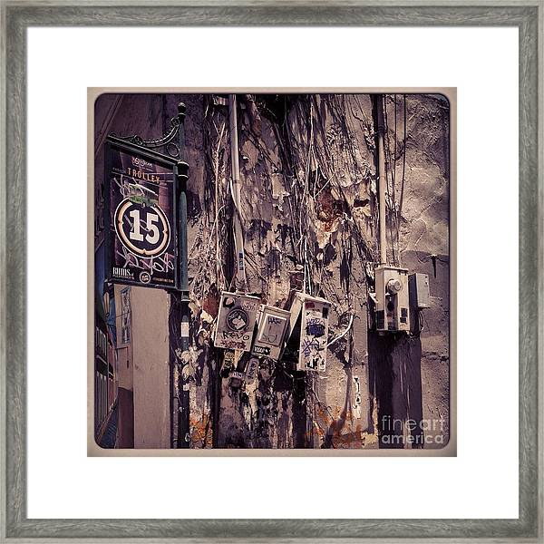 Abandoned Puerto Rico Framed Print