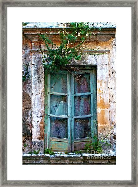 Abandoned Sicilian Sound Of Noto Framed Print