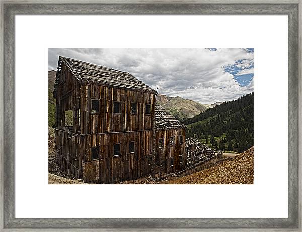 Abandoned Silver Mine Framed Print