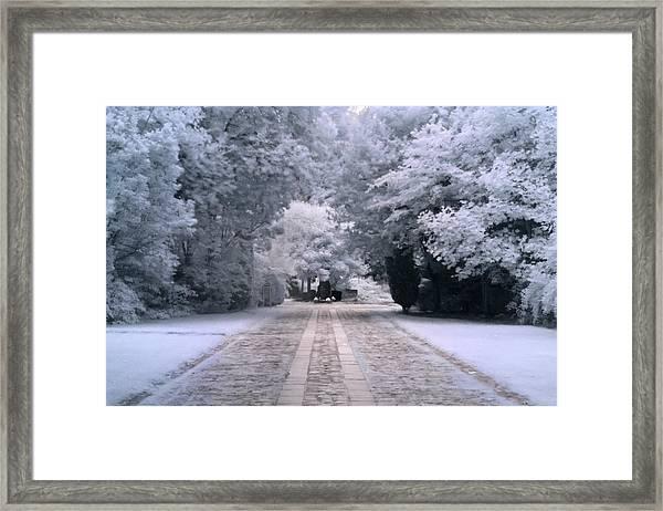 Abney Park Entrance Framed Print