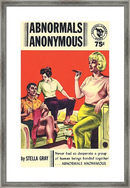 Abnormals Anonymous Framed Print