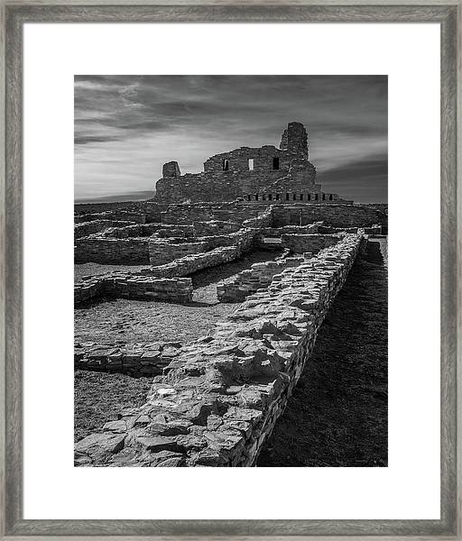 Abo Ruins Framed Print by Joseph Smith