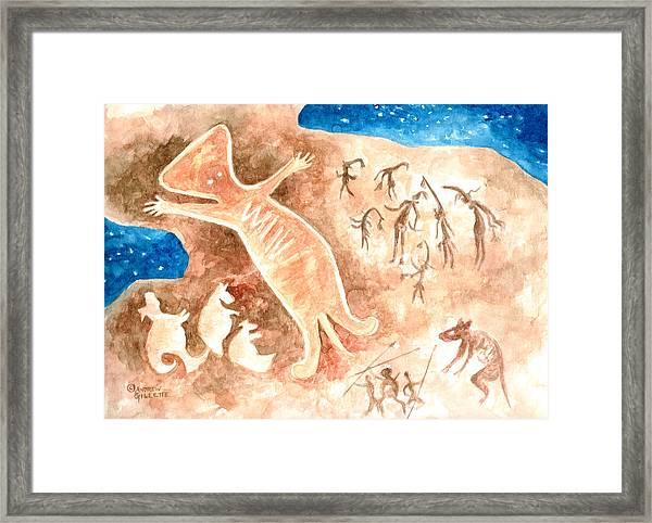 Aboriginal  Framed Print