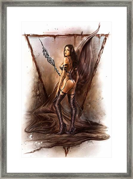 About Elves And Steel  Framed Print